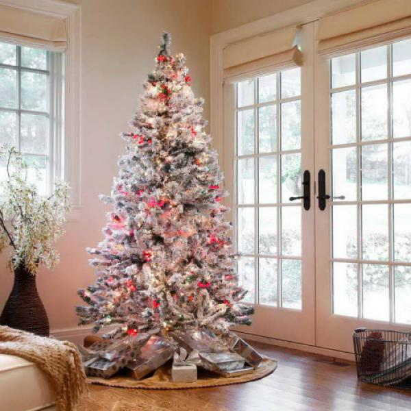 white christmas tree its always a great idea to go with the classic white christmas - 2015 Christmas Tree