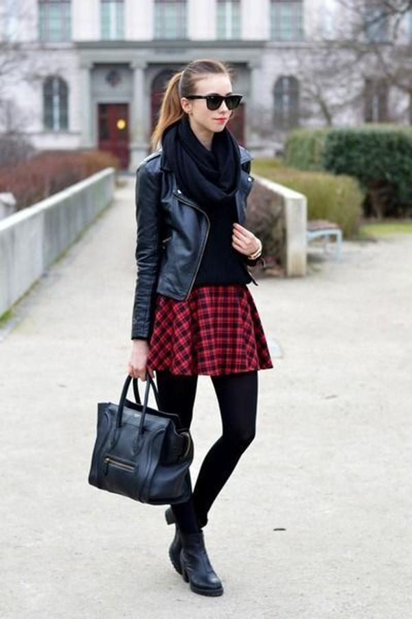 Be sleek and classy but bring in some of that schoolgirl charm in this wonderful winter