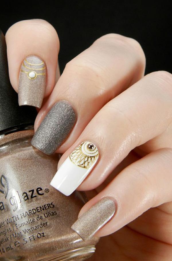 Nail Designs Gray