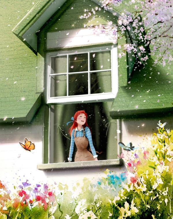 Indigo World Classic Novel Series illustration and stationary arts