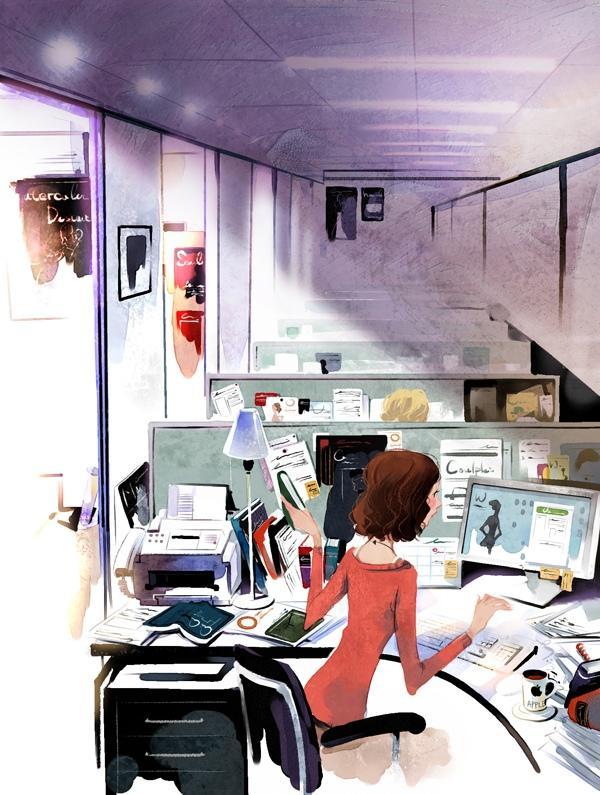 JI-HYUK KIM - Cute Illustrations by Ji Hyuk Kim  <3 <3