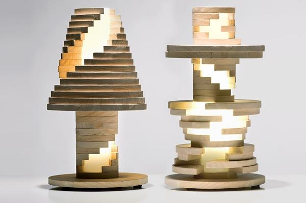 Maniffattura Italiana Design Babele Lamp