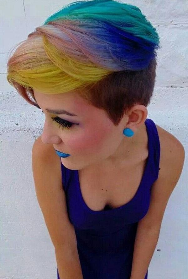 30 Hot dyed hair Ideas | Art and Design