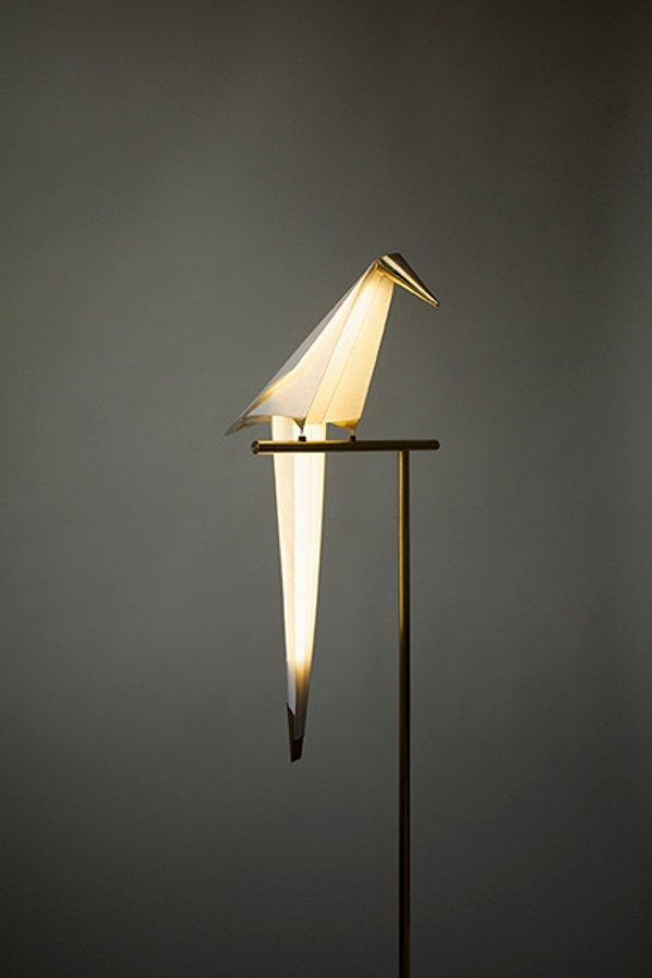 Unique Balancing Lamp in Bird Shape – Perch Light