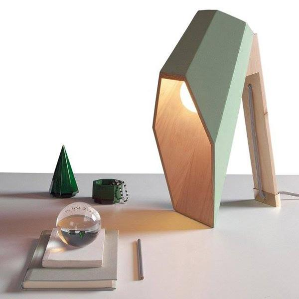 Woodspot Table Lamp by Seletti