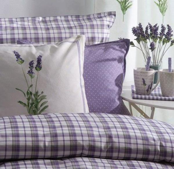 lilacs  purples in the room