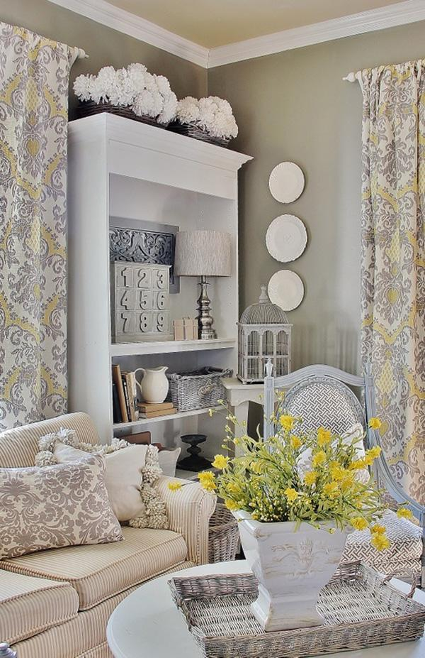 Give Your Home The Cozy Look By Adding Beautiful Yellow Flowers To Your Living  Room Theme ... Part 74