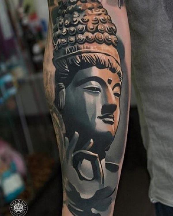 167400f5c 60 Inspirational Buddha Tattoo Ideas   Art and Design