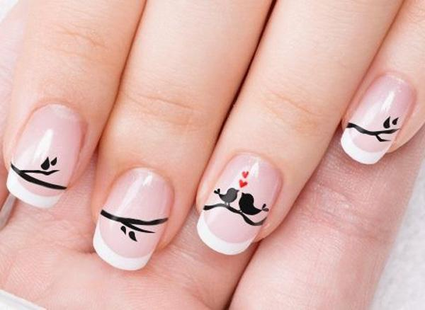 50 Valentine S Day Nail Art Ideas Cuded,Simple Arya Work Blouse Designs Images