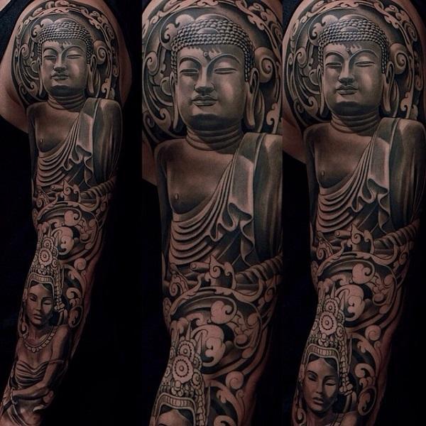 60 Inspirational Buddha Tattoo Ideas Art And Design