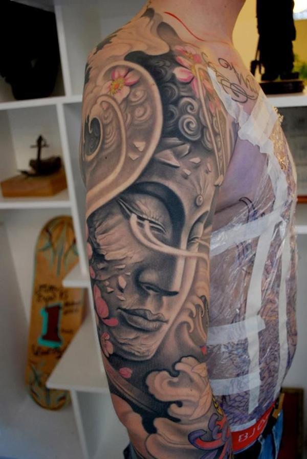 Buddha japanese  tattoo