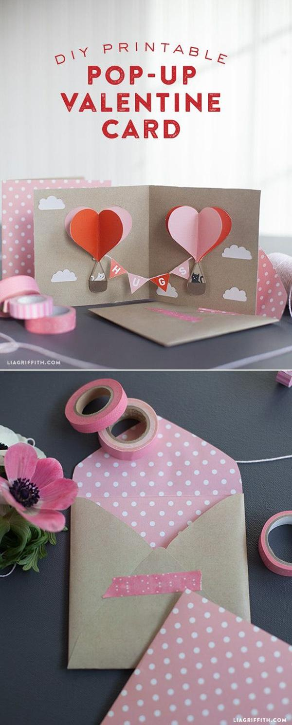 DIY Valentine Pop-Up Card