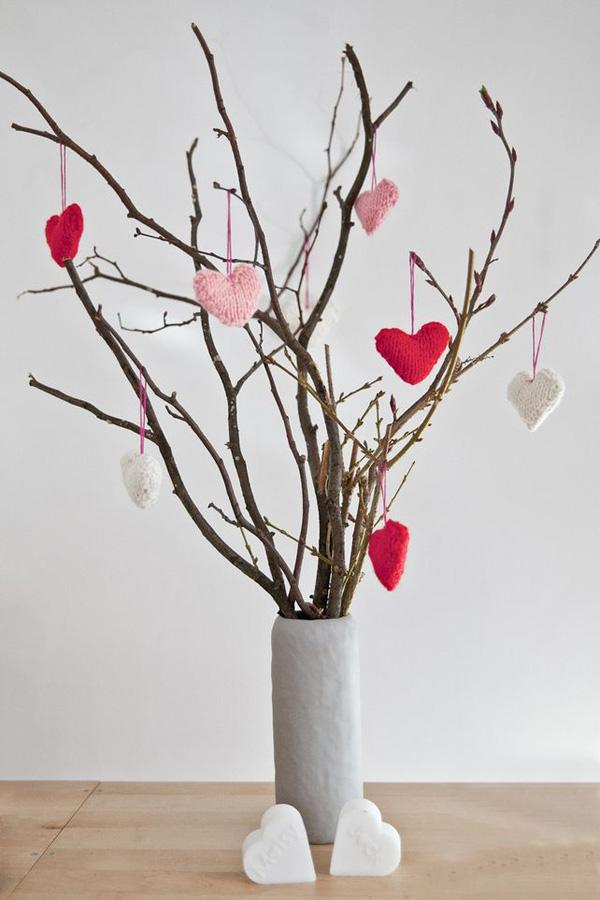 DIY table decoration idea for valentine themed fundraiser. Perfectly simple.