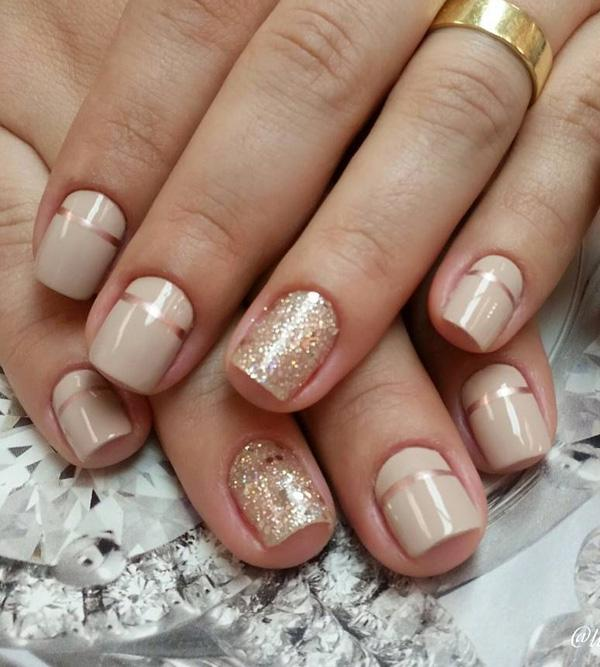Nude color nail art-18
