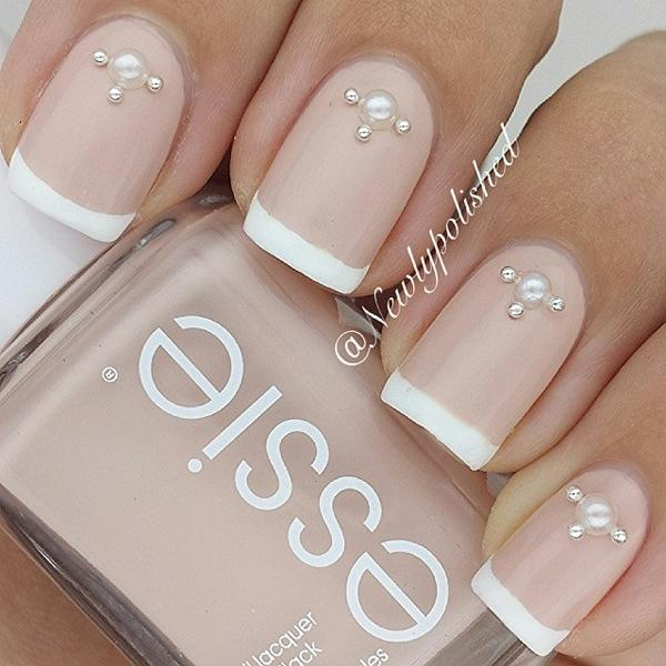 Nude color nail art-20