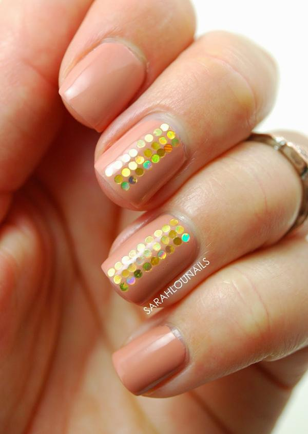 Nude color nail art-22