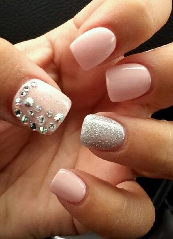 Nude color nail art-26