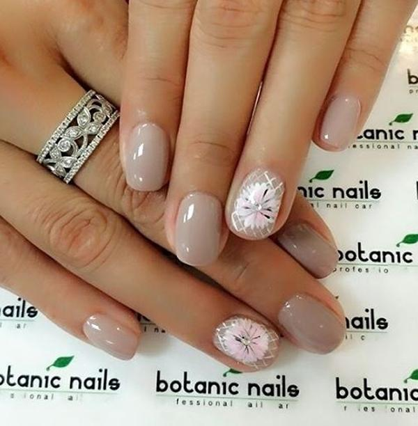 Molto 40 Nude Color Nail Art Ideas | Art and Design NV12