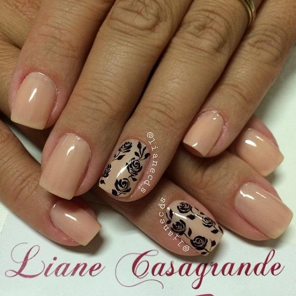 Nude color nail art-38