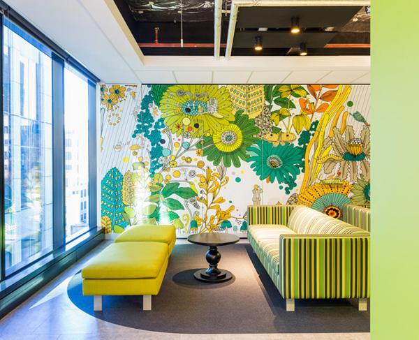 Office Decoration Design. This One Is A Good Example Of Playing With  Designs And Decorations