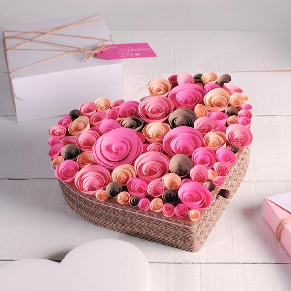 25 Valentine Day Heart Craft Ideas | Art and Design