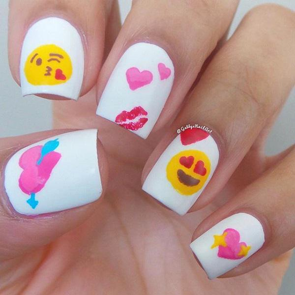 valentine's day nail art-1