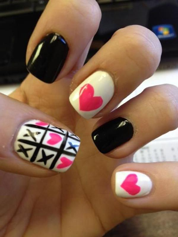 valentine's day nail art-12