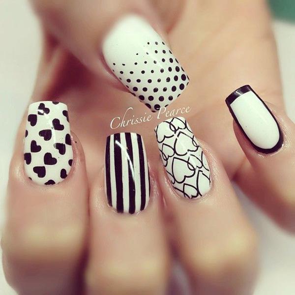 valentine's day nail art-14