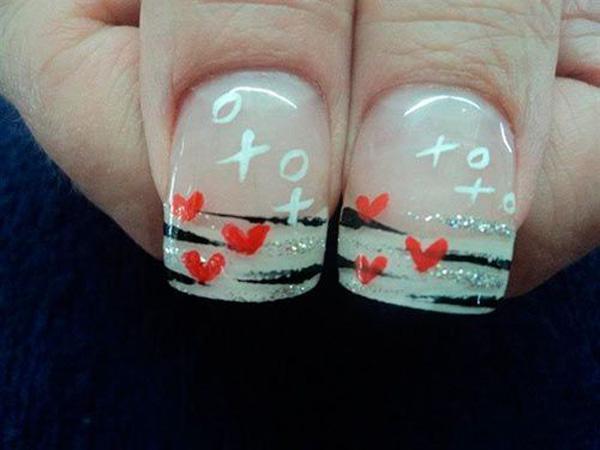 valentine's day nail art-15