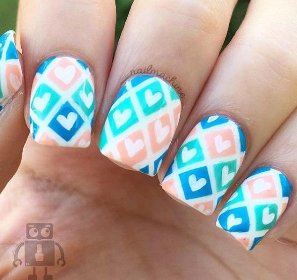 valentine's day nail art-2