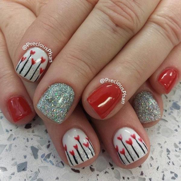 valentine's day nail art-21
