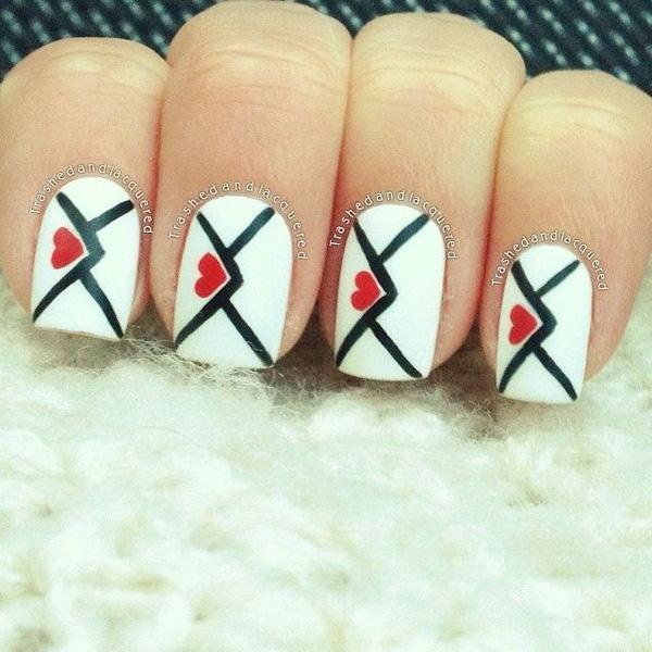 valentine's day nail art-22