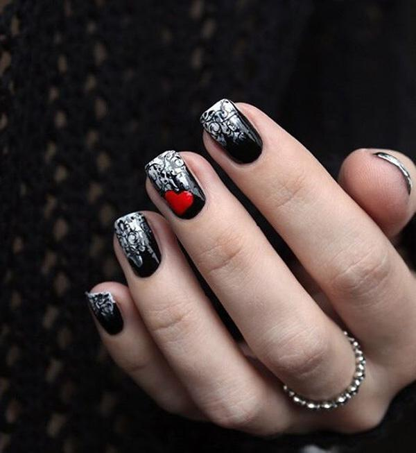 valentine's day nail art-3