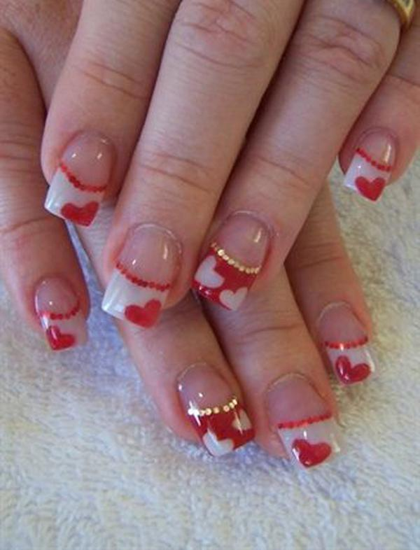 valentine's day nail art-33