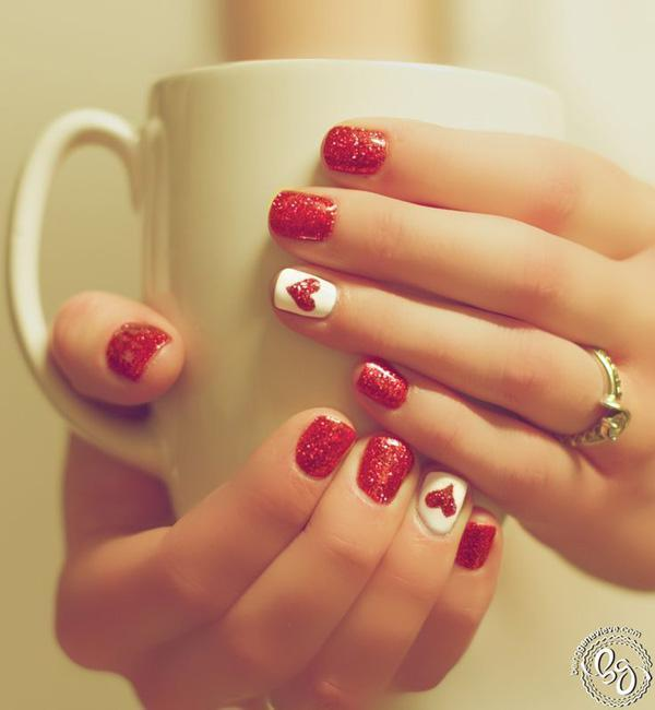 valentine's day nail art-34