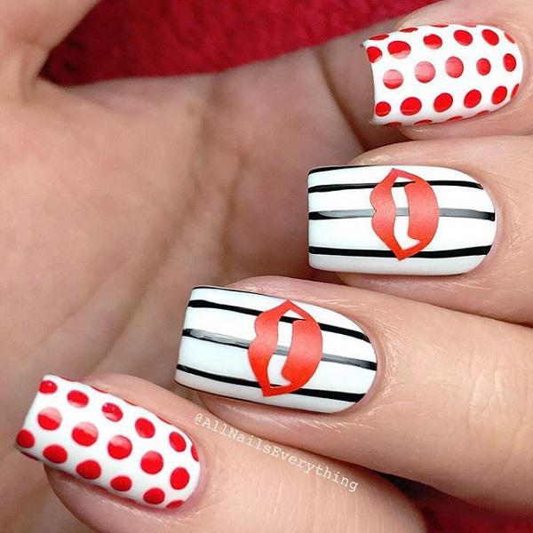 valentine's day nail art-37