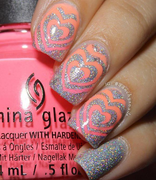 valentine's day nail art-39
