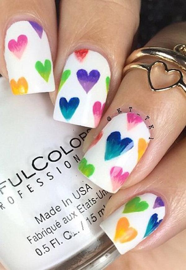 valentine's day nail art-42