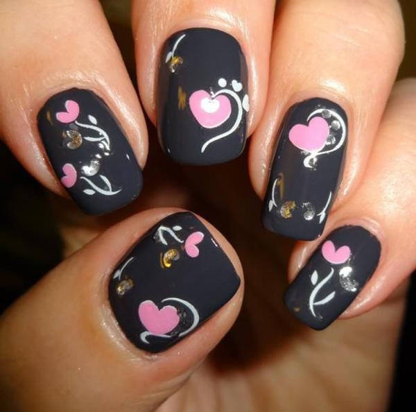 valentine's day nail art-45