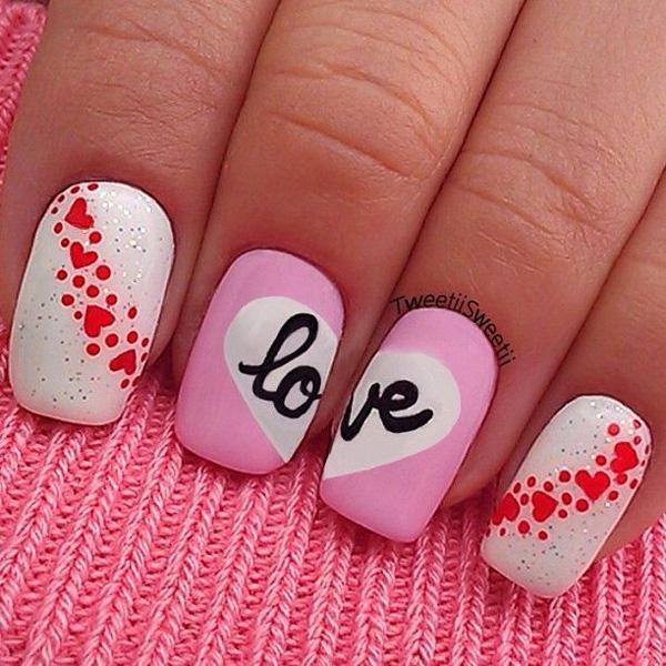 valentine's day nail art-7