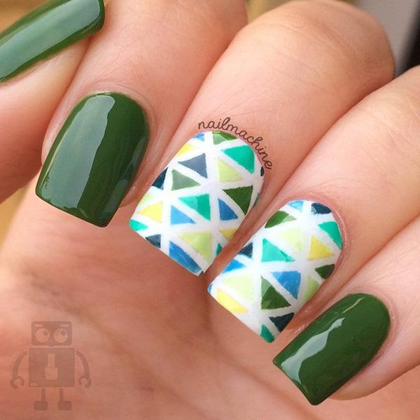 Abstract nail art-15