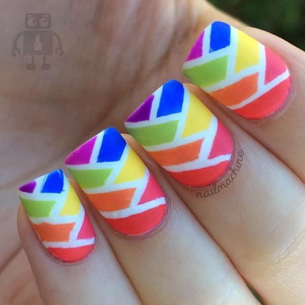 Abstract nail art-18