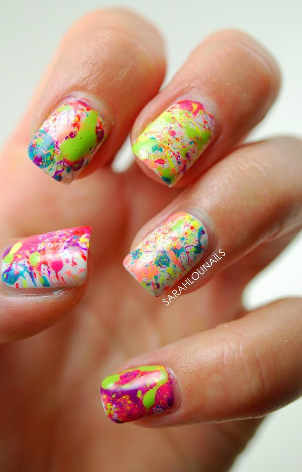 Abstract nail art-52