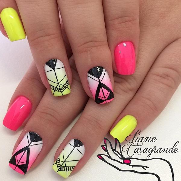 Abstract nail art-54