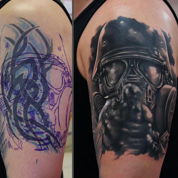 55+ Incredible cover up tattoos before and after