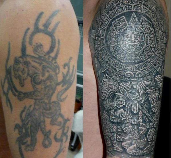 Origin of cover up tattoos best ideas and examples for How to cover up tattoos for work