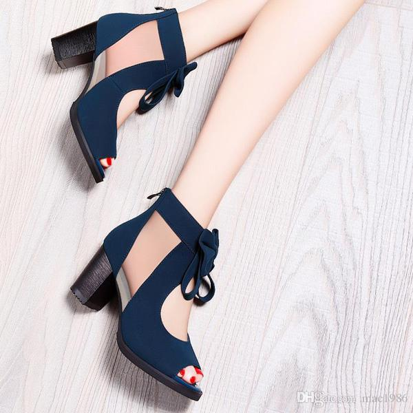 Elegant woman shoes fashion high heel new style women shoes