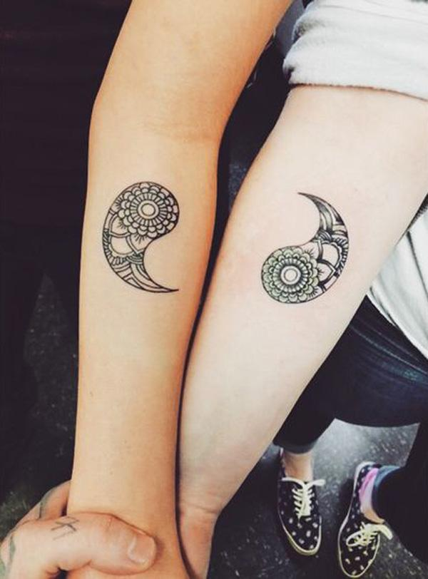 50 Mysterious Yin Yang Tattoo Designs Cuded