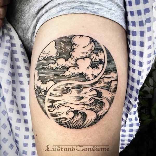 Ocean Sky Tattoo by Phil Tworavens-20