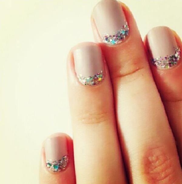 The Key To Using A Rhinestone Glitter Diamond Crescent Moon Nail Is Keep